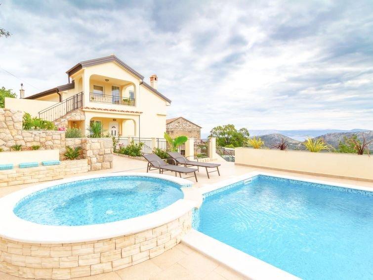 Ferienhaus Villa Anna (CKV350) in Crikvenica - 10 Personen, 4 Schlafzimmer, holiday rental in Bribir