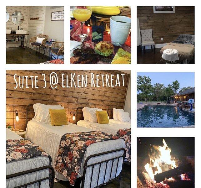 ElKen Retreat Experience: relax, rest, enjoy Suite 3, holiday rental in Canton