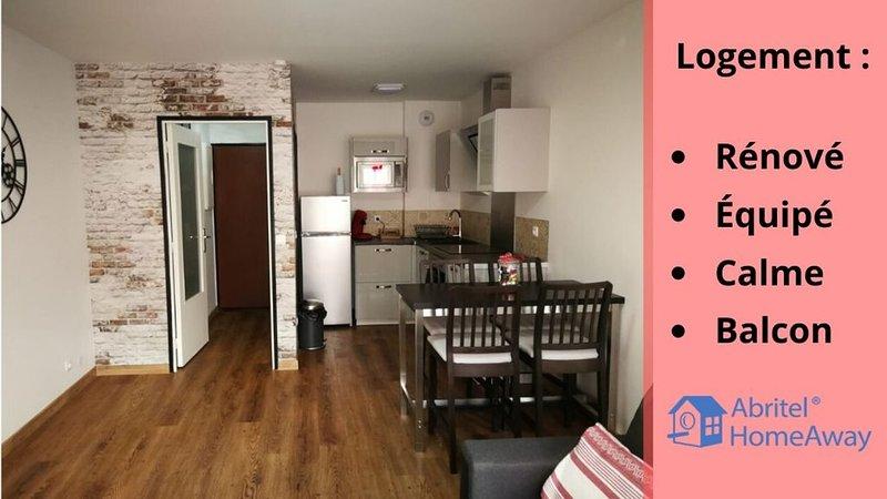 NOUVEAU - Appartement entièrement rénové - Dammarie-Les-Lys !, location de vacances à Dammarie-les-Lys