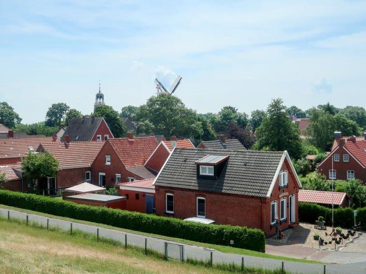 Vacation home Huuske an Diek  in Ditzum (Jemgum), North Sea: Lower Saxony - 8 p, location de vacances à Emden