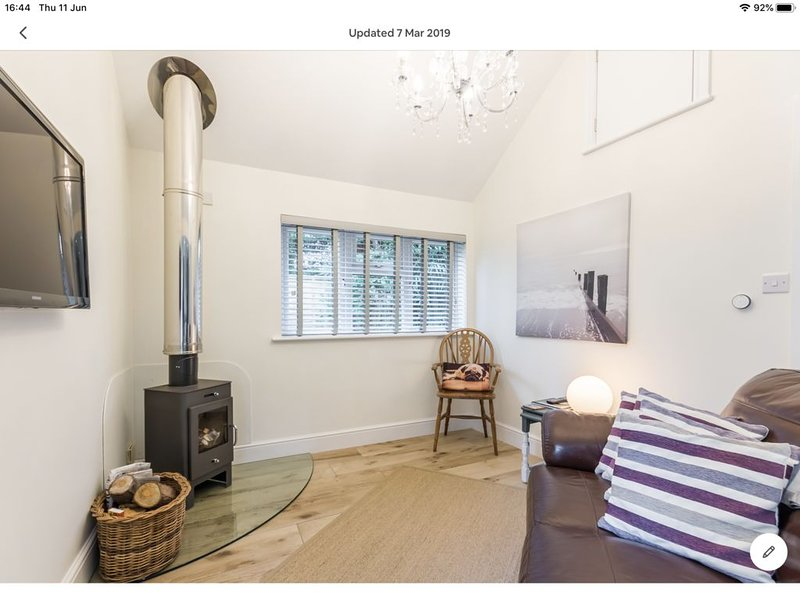 Tucked away Cosy retreat within the National Park in the hamlet of North Gorley, holiday rental in South Gorley