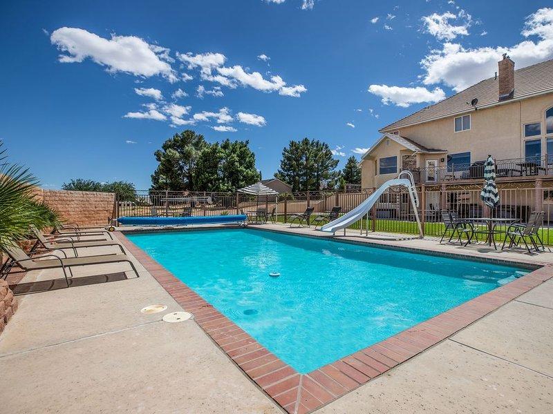 Big Families, Private Pool, Hot Tub, Exercise Room, Secret Room + Game Room, alquiler vacacional en Saint George