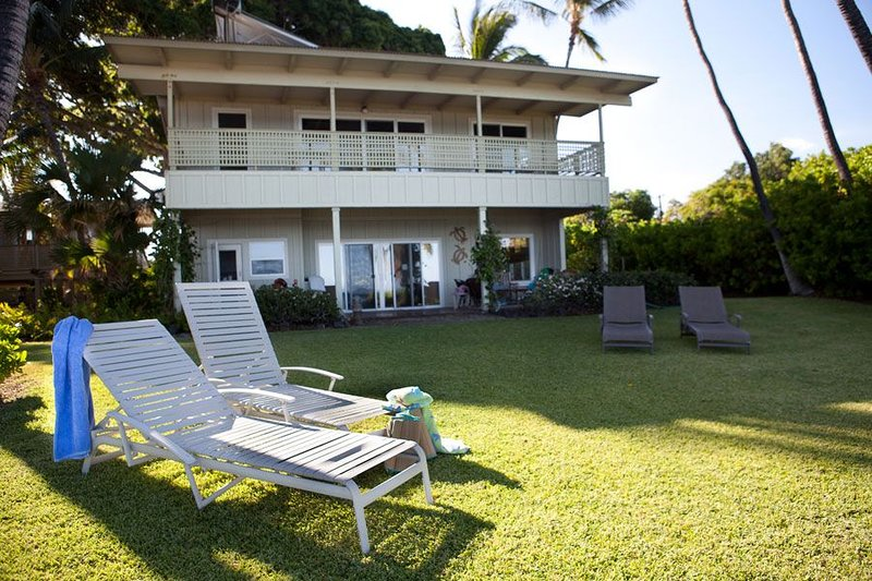 Oceanfront Puako Home, holiday rental in Puako