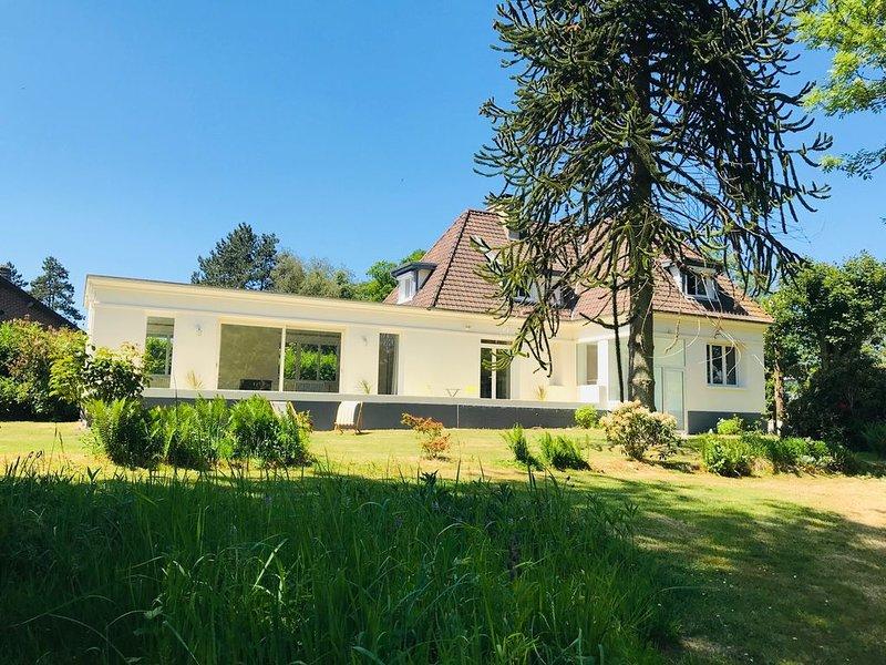 Les Varengues, maison spacieuce à Varengeville, holiday rental in Quiberville