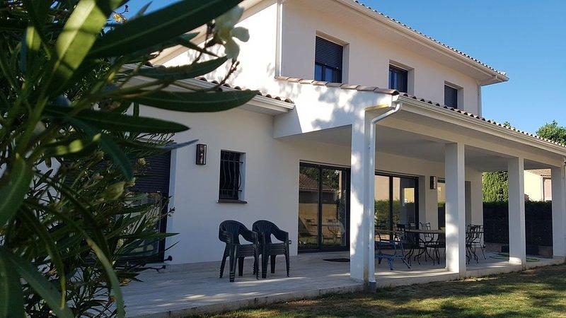 Villa d'exception unique à Vias plage, location de vacances à Vias