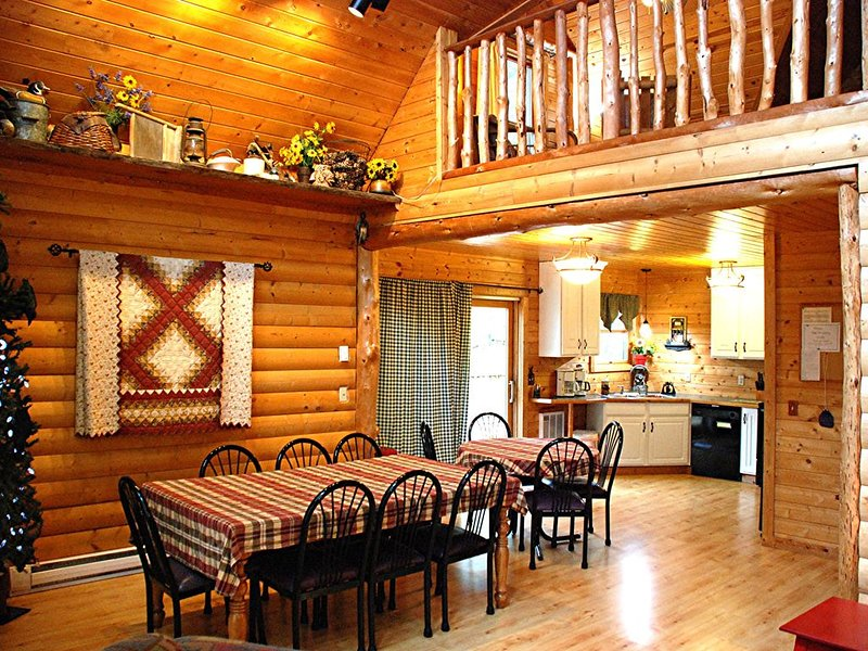 EPA approved non-toxic disinfectant used- Luxury lakeside cabin near Itasca Park, alquiler de vacaciones en Hackensack