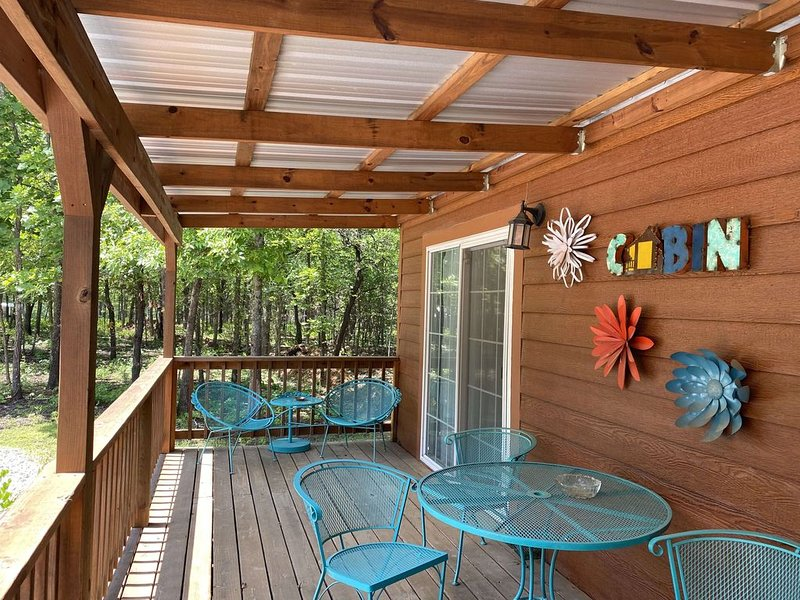 OK40 Ranch North Cabin in the woods, holiday rental in Bixby