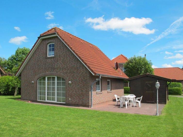 Vacation home Friesenhaus Sielblick  in Ditzum, North Sea: Lower Saxony - 4 per, location de vacances à Emden
