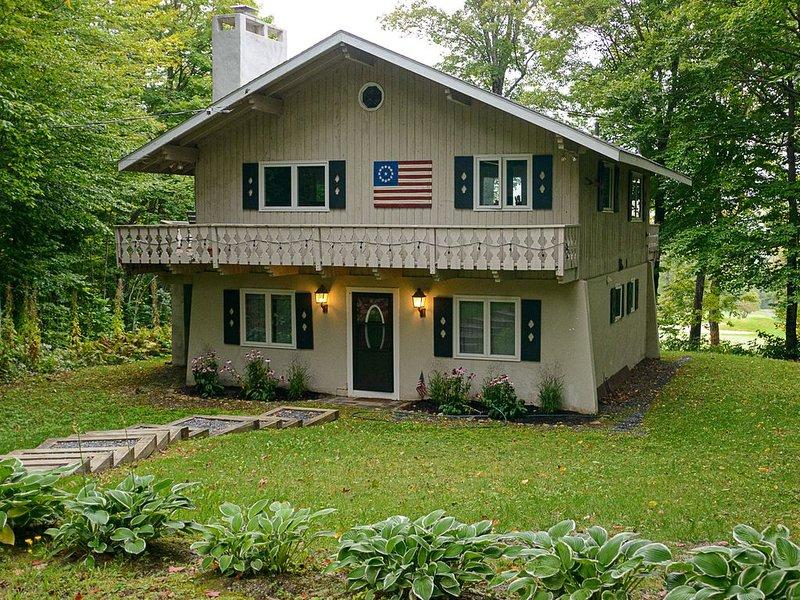 Perfect 'Goldilocks' Ski & Golf House on Stratton Resort, holiday rental in Bondville