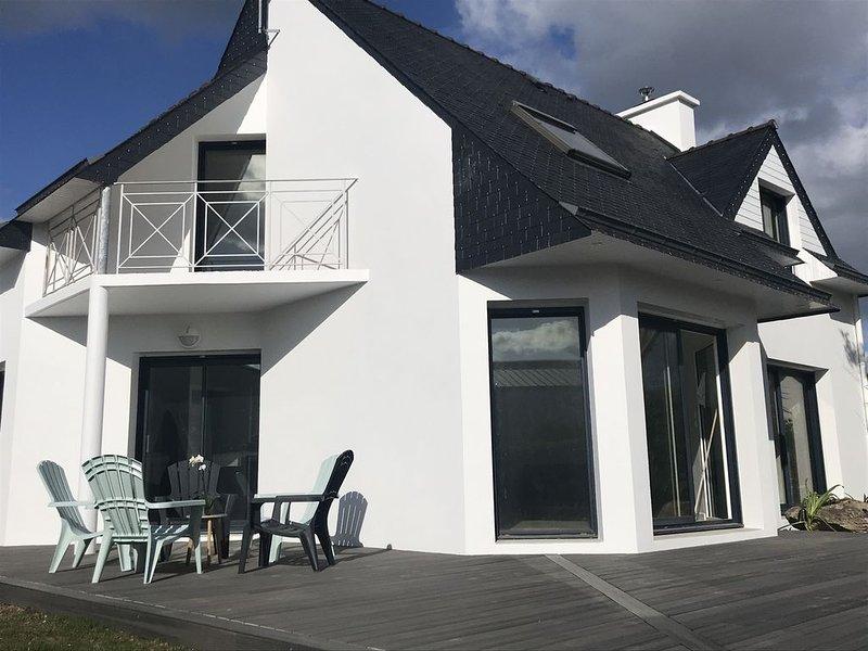 Villa 8 pers à 100 m de la plage, location de vacances à La Foret-Fouesnant