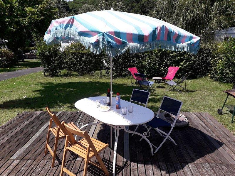 Loue mobil-home au coeur du pays basque - St Jean pied de port - Ascarat, casa vacanza a Saint-Michel