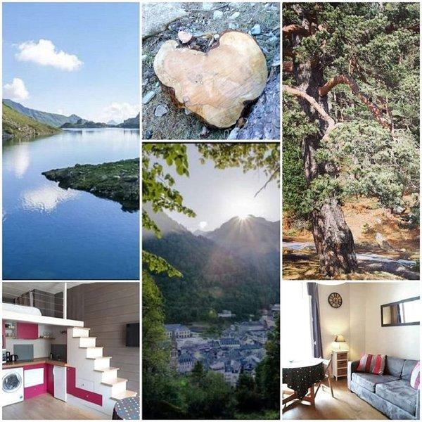 Appartement 3* hyper centre, résidence calme proche de tous commerces !, location de vacances à Cauterets