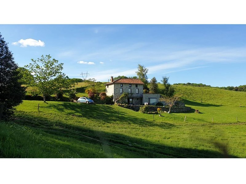 Exquisite Mansion in Cantal with Jacuzzi, Sauna and Pool, vacation rental in Lauresses