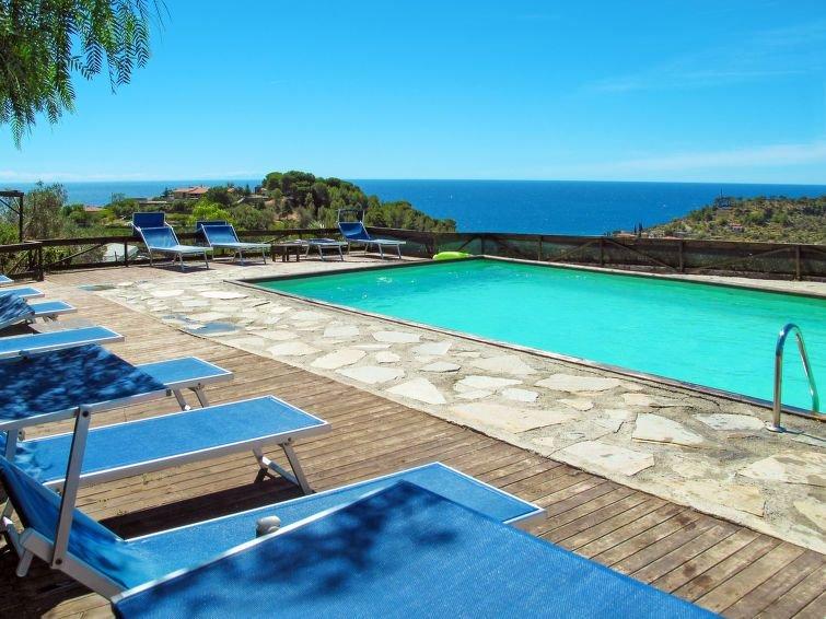 Ferienhaus Le Terrazze del Geco Bungalow B (SLR301) in San Lorenzo al Mare - 5 P, vacation rental in San Lorenzo al Mare