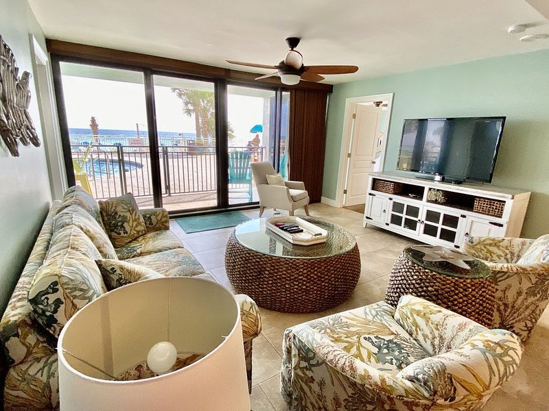 Ground Floor Unit!!! 3br/3b with TWO masters!, vacation rental in Panama City
