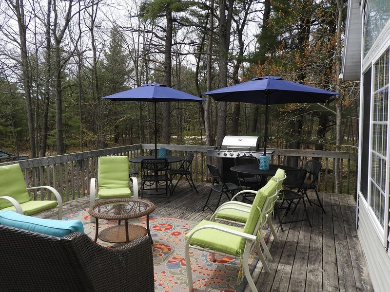 Mr. Moon's.  Fun! Beautiful bright and relaxing home in town. Wifi., holiday rental in Beaver Island