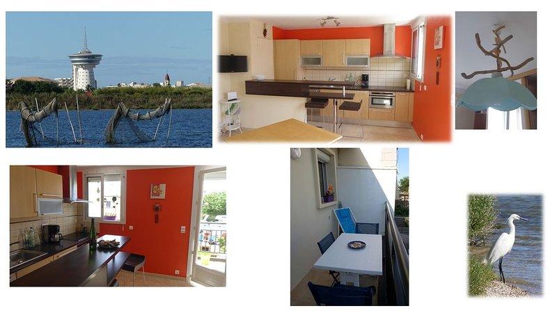 Appart dans villa, petite structure face à la mer, au calme à 2 pas du centre., alquiler vacacional en Palavas-les-Flots