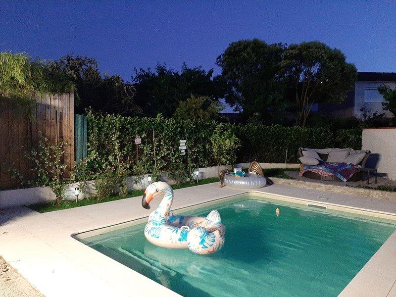 Villa 3ch piscine poêle à bois dans Toulouse, vacation rental in Lagardelle-sur-Leze