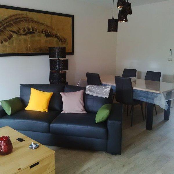Nouveau, T3 de charme classé centre Lons le Saunier dans le Jura, location de vacances à Geruge