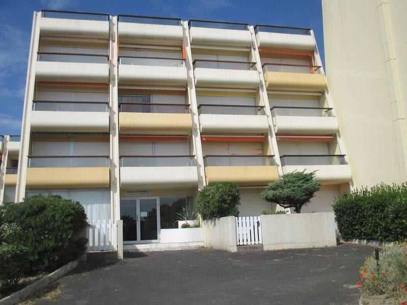 Studio dans résidence Voilier, aluguéis de temporada em Saint-Jean-de-Monts