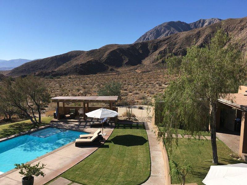 Private Bohemian Desert Hacienda Estate (New Listing), location de vacances à Borrego Springs