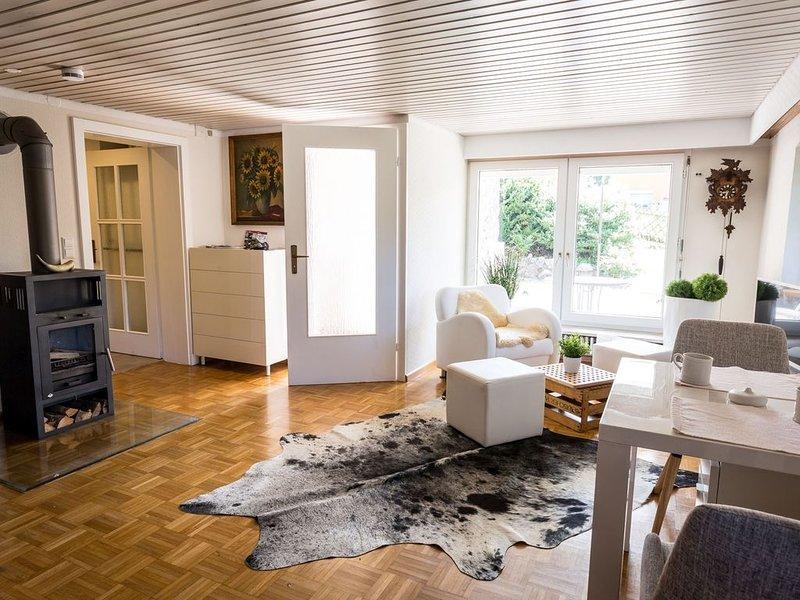 Ferienwohnung mit Terrasse, 1 Schlafzimmer, max. 2 Personen, aluguéis de temporada em Saig