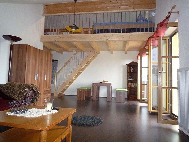 Ferienwohnung auf 2 Etagen, 70 qm, 1 separates Schlafzimmer – semesterbostad i Prien am Chiemsee