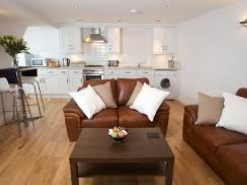 Unique 2 bedroom duplex apartment with roof terrace in the heart of Exeter, location de vacances à Kennford