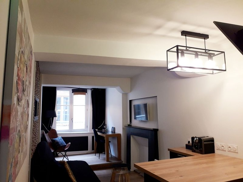 Appartement chic et cosy au coeur de Vannes, holiday rental in Saint-Ave