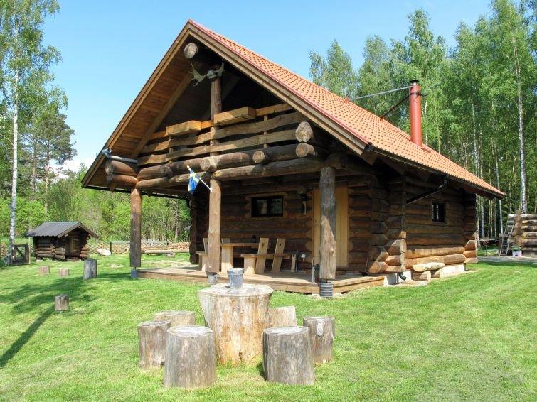 Ferienhaus Sjöatorp Timmerstugan (SND124) in Hjortsberga - 4 Personen, 1 Schlafz – semesterbostad i Grimslöv