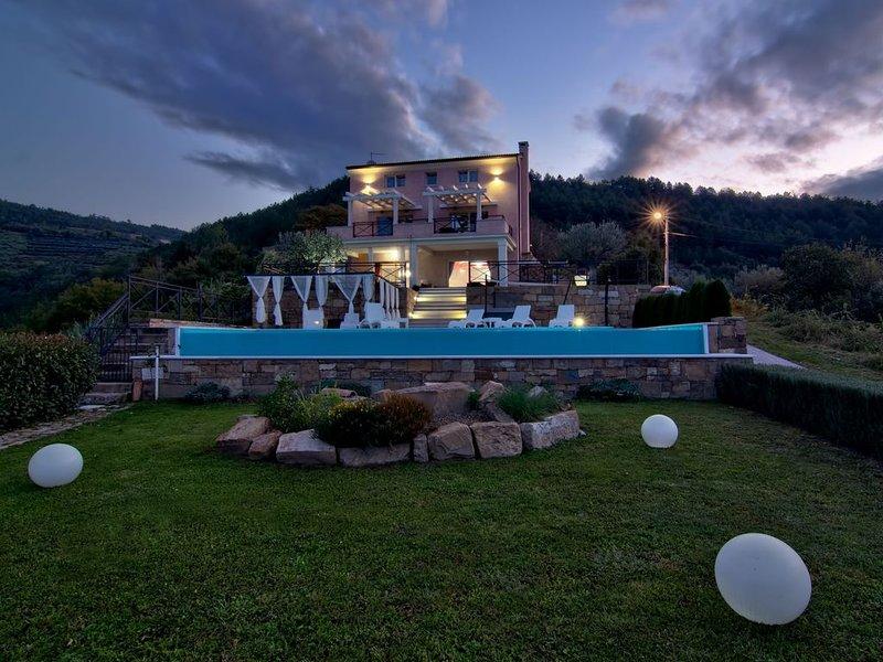 Villa Over the Hill Top, holiday rental in Vizintini Vrhi