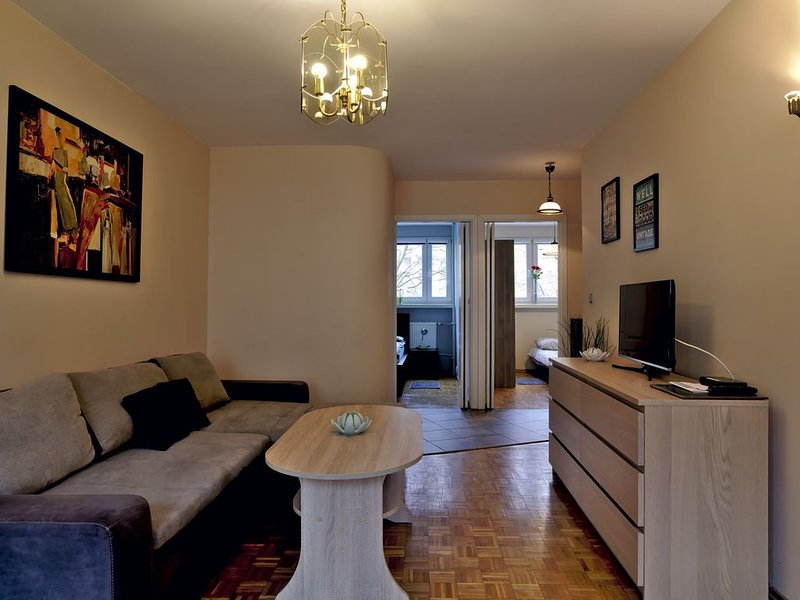 Lovely apartment  in cetrum city very close to old town only 150m, vacation rental in Wroclaw