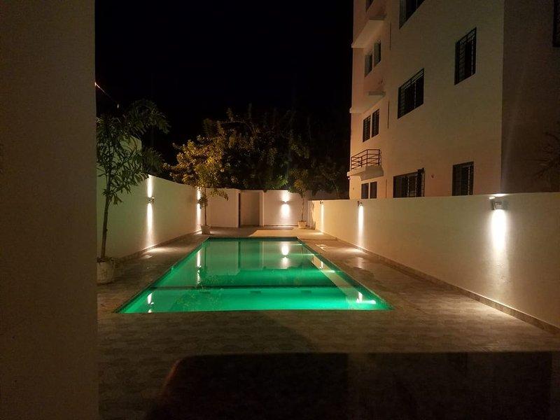Apartamento localizado a solo 7 minutos del centro de la ciudad, alquiler de vacaciones en Salcedo