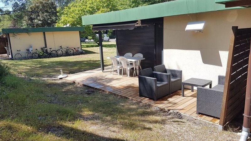 La maison de vacances au milieu de 70 hectares de pin à 2 pas de la plage, vacation rental in Leon