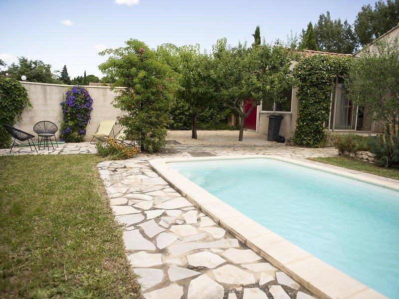 Un petit paradis gardois, location de vacances à Châteauneuf-du-Pape