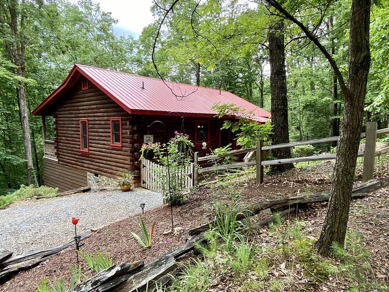 Red Roof Cottage in Cherry Log Mountain near downtown Blue Ridge and Ellijay, vacation rental in Cherrylog