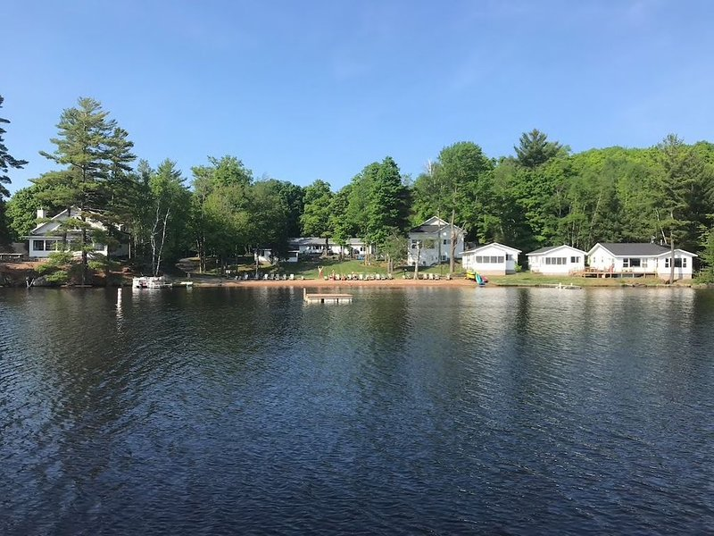 Waterfront house on 7 Mile Lake -- Gorgeous Views, Summer, Fall & Winter Fun, holiday rental in Three Lakes