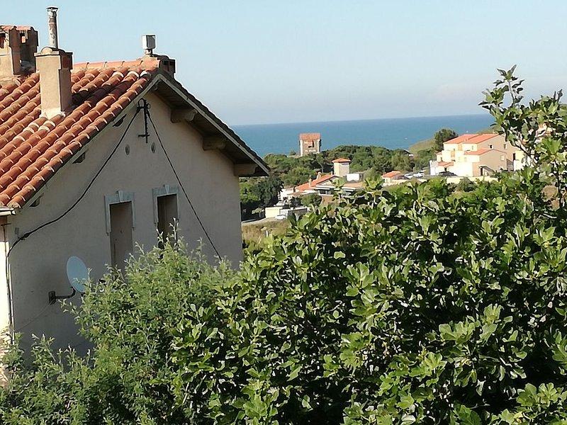 T2, vue mer et parking., alquiler de vacaciones en Port-Vendres