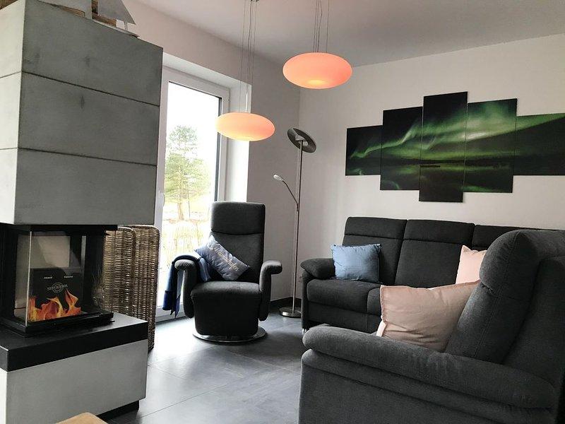 Ihr Traum vom Urlaub an der Nordsee wird in unserem Haus 'Bettys Nordlicht' wahr, holiday rental in Schweiburg