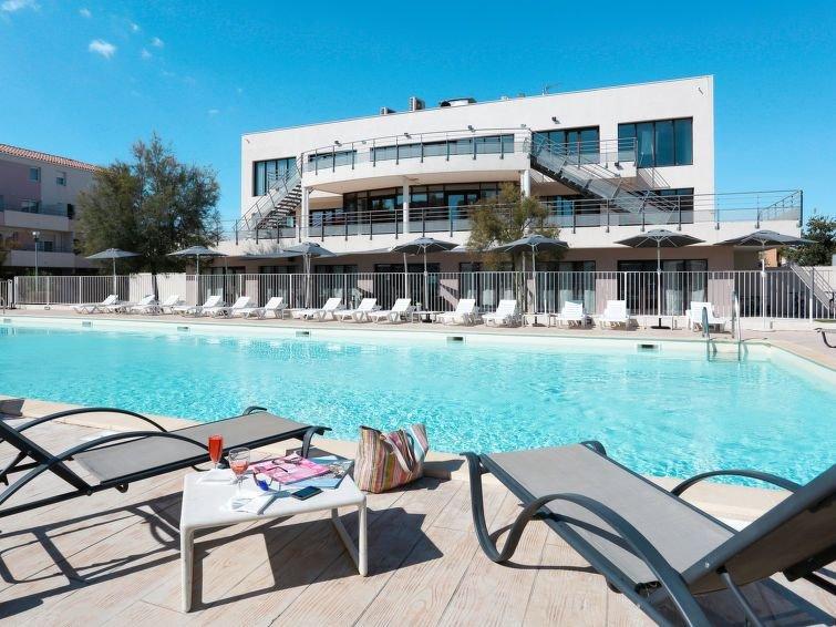 Apartment Résidence Cap Med  in Le Grau du Roi, Camargue - 4 persons, 1 bedroom, vacation rental in Le Grau-du-Roi