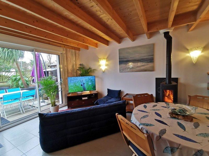 Agréable maison tout confort. Classée 4 étoiles de France., location de vacances à Batz-sur-Mer