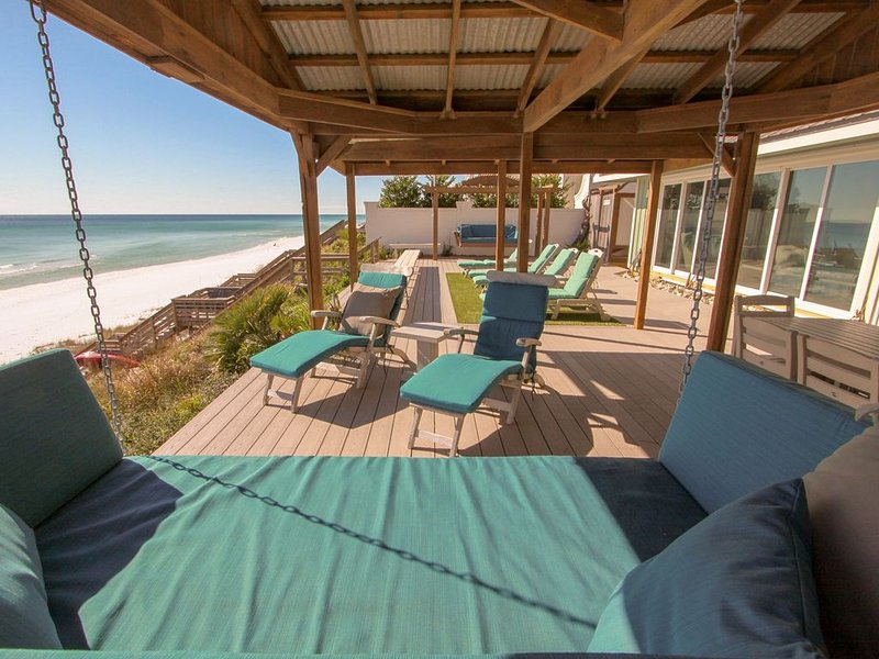 East of the Sun, Gulf Front 6 BR! Next to Seaside, Available Oct 2-11!! Rare Opp, holiday rental in Seagrove Beach