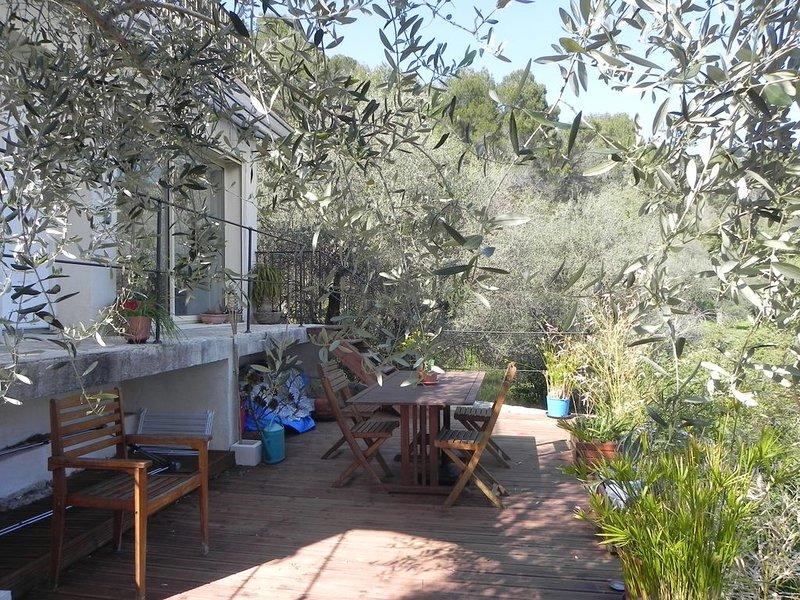 Maisonnette  de charme indépendante dans propriété avec vue panoramique, holiday rental in Speracedes