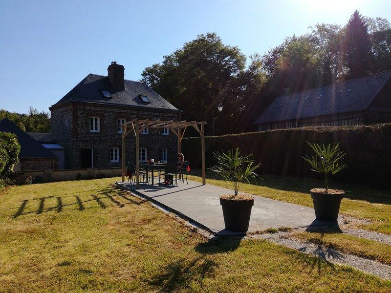La Maison Des Sources, holiday rental in Angiens