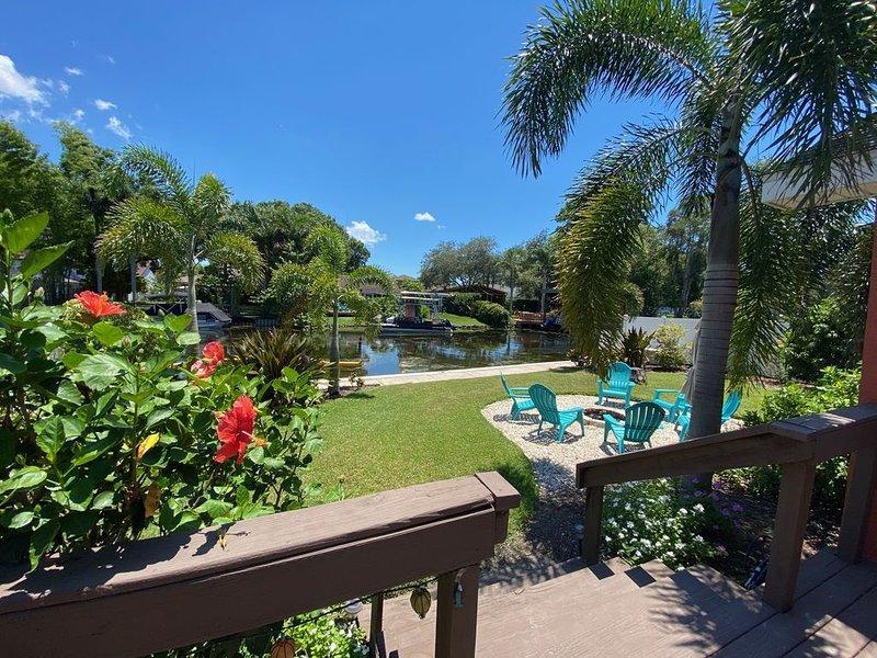 LAKE TARPON CANAL HOUSE – Adventures in Paradise, alquiler vacacional en Palm Harbor