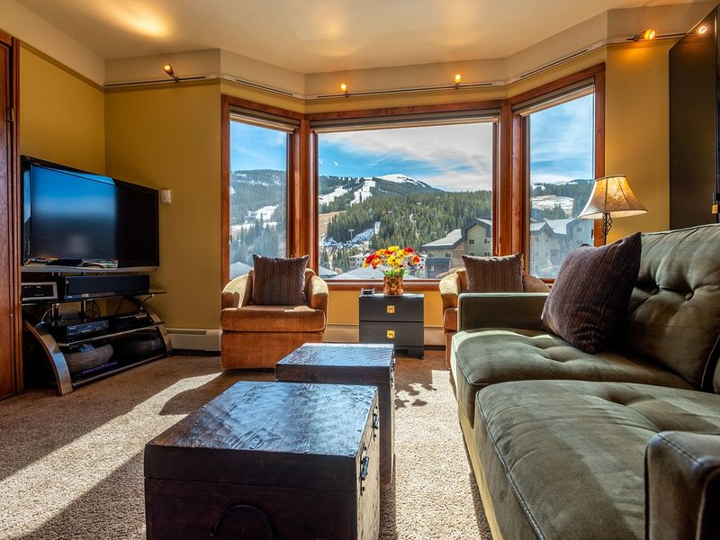 Amazing Views, free wifi, free parking. Telemark Lodge studio with style that, alquiler vacacional en Copper Mountain