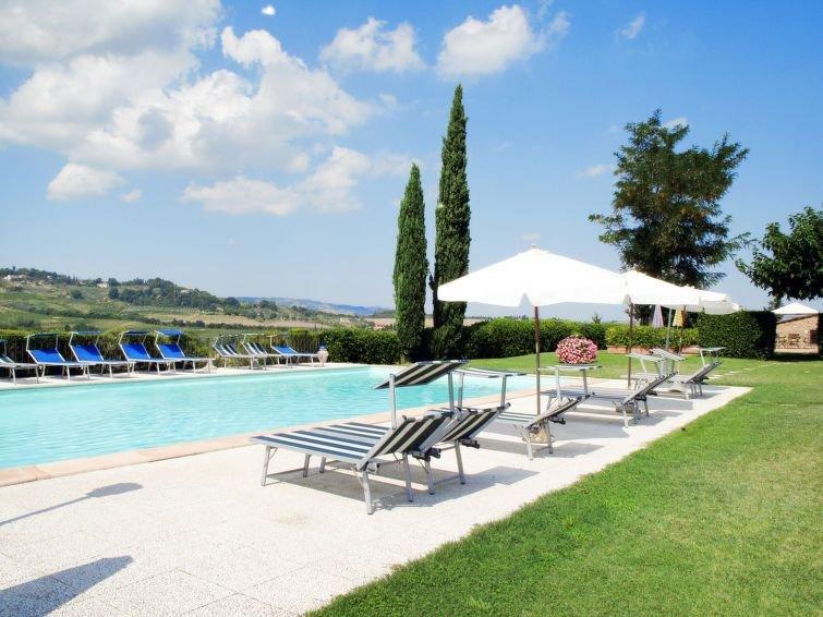 Apartment Podere di Mezzo  in San Gimignano (SI), Siena and surroundings - 2 pe, casa vacanza a Pancole