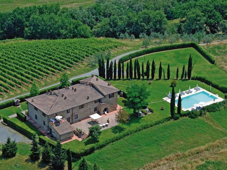 Ferienwohnung Podere di Mezzo - Cantina (SGI402) in San Gimignano - 4 Personen,, alquiler de vacaciones en Pancole