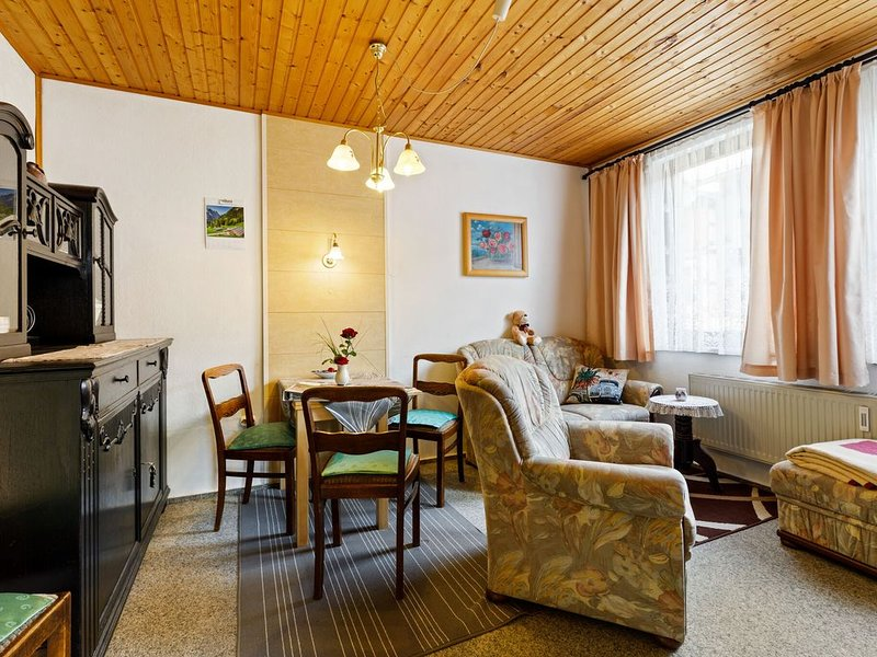 Winsome Holiday Home with Terrace,Garden,Bicycle Storage,BBQ, holiday rental in Meiningen