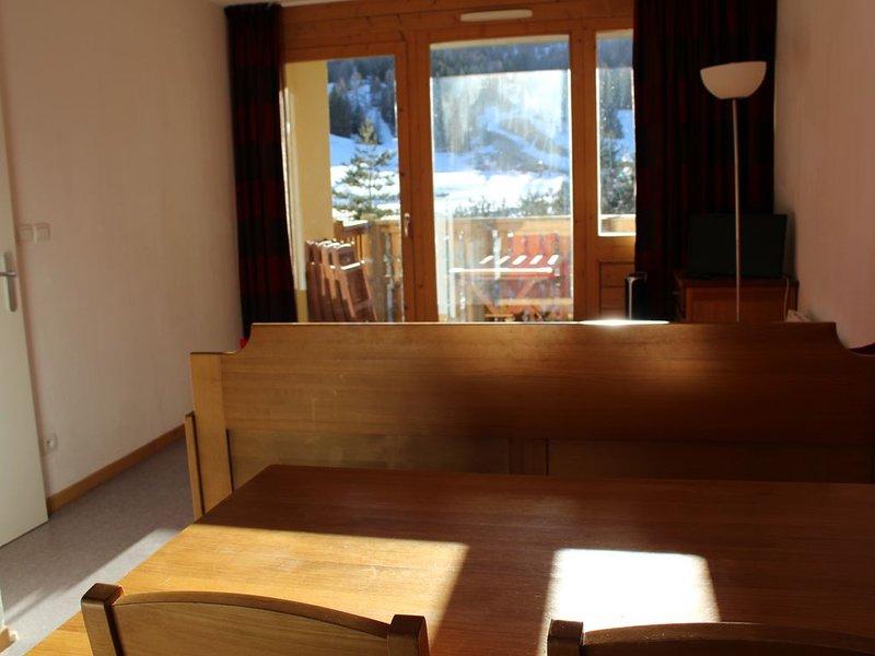 Appartement T2 4 pers 32 m²  Au pied et en face des pistes (expo sud-ouest), alquiler de vacaciones en Le Devoluy